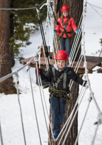 Treetop Adventure Park-Things to do in Tahoe this Winter