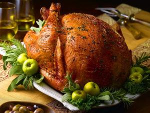 Thanksgiving Dinner at Lake Tahoe