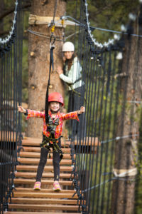 The Tahoe Vista Treetop Adventure Park
