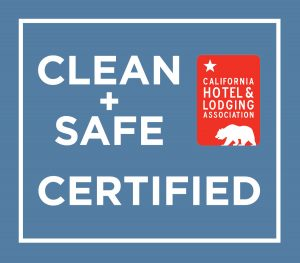 clean and safe certified at Franciscan Lodge